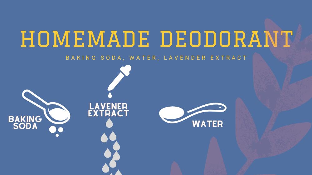 cheap DIY homemade deodorant recipe